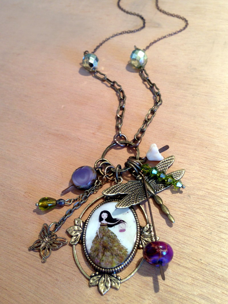 Original jewelry piece -  2013 © Anne-Julie Aubry