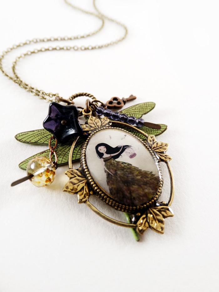L'Envol des Libellules necklace - 2013 © Anne-Julie Aubry