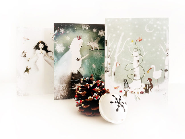 greeting cards - Anne-Julie Aubry 2013