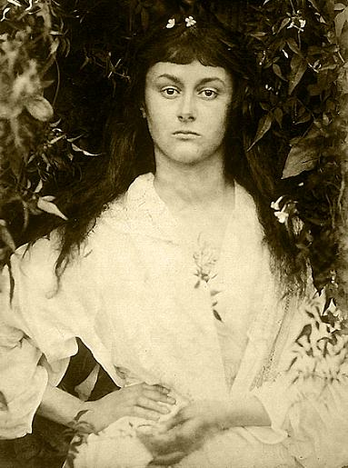 Alice Liddell as a young adult. Photography by Julia Cameron