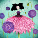 Bloom - illustration © 2014 Anne-Julie Aubry - www.annejulie-art.com - https://www.etsy.com/shop/TheNebulousKingdom