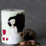 Illustrated Tea Caddy by Anne-Julie Aubry and http://www.la-boite-a-the.com