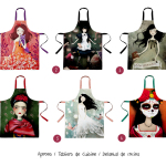 Collection of Aprons by Anne-Julie Aubry - available at : http://envelop.eu/shop/designers/p/detail/the-nebulous-kingdom
