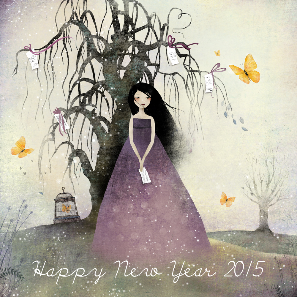 Happy New Year 2015 - © Copyright Anne-Julie Aubry