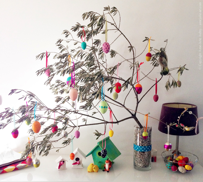 Easter Tree (2015) - Home of Anne-Julie Aubry