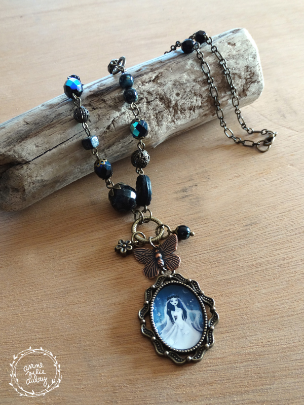 Corpse Bride necklace - Handmade Jewelry collection © Anne-Julie Aubry / The Nebulous Kingdom