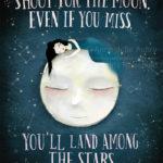 Les Brown quote - Illustration : © 2016 Anne-Julie Aubry - annejulie-art.com / thenebulouskingdom.com
