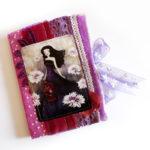 fabric journals created by Anne-Julie Aubry (c) 2017 - annejulieart.com