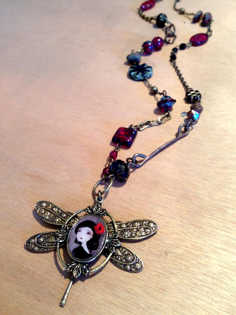 Original jewelry piece -  2013 © Anne-Julie Aubry