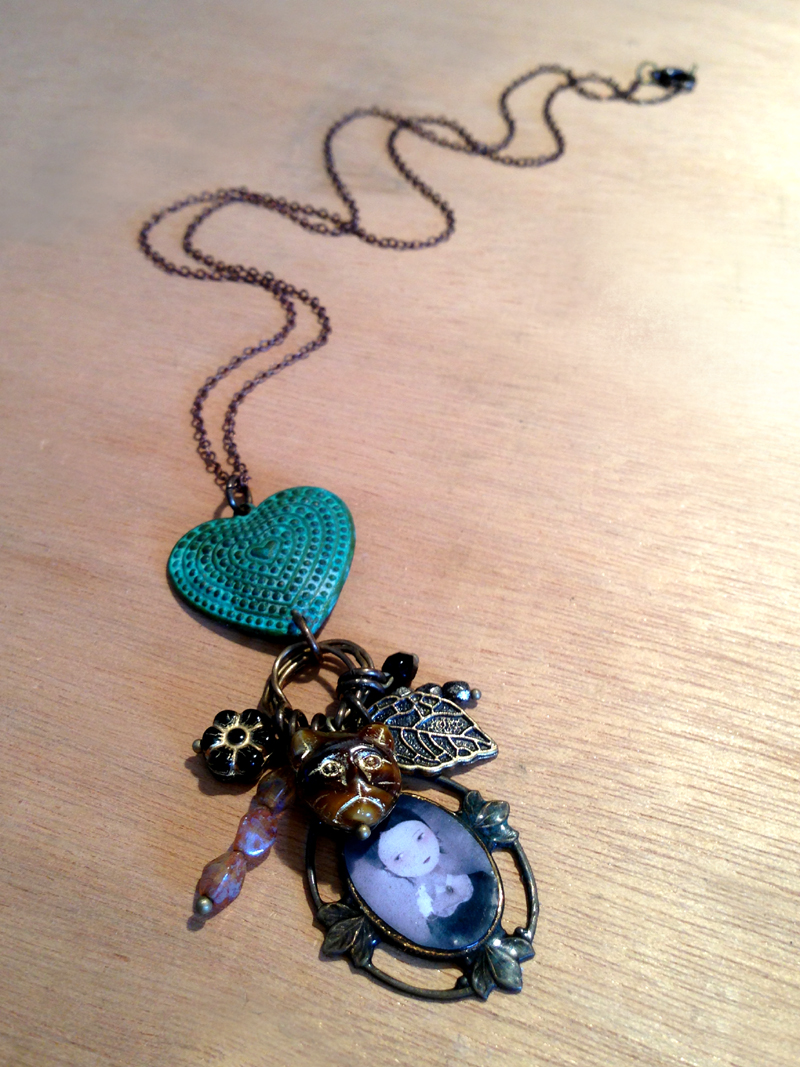 Ocean of Tears & Sirens' Song necklace - 2013 © Anne-Julie Aubry