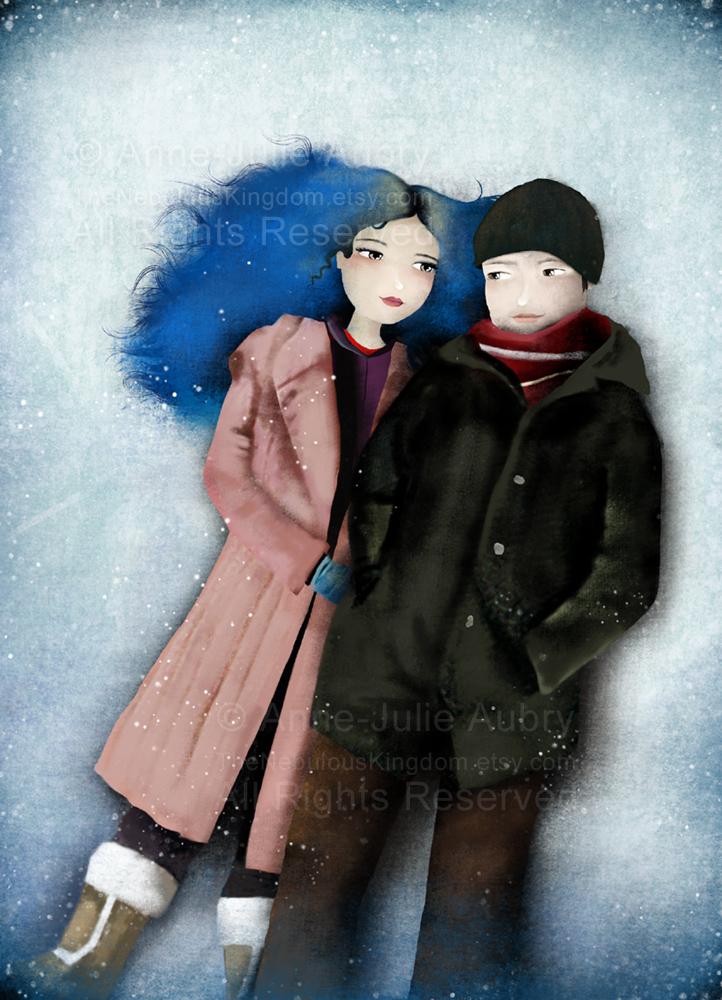 """Eternal Sunshine of the Spotless Mind"" © Copyright Anne-Julie Aubry 2015"