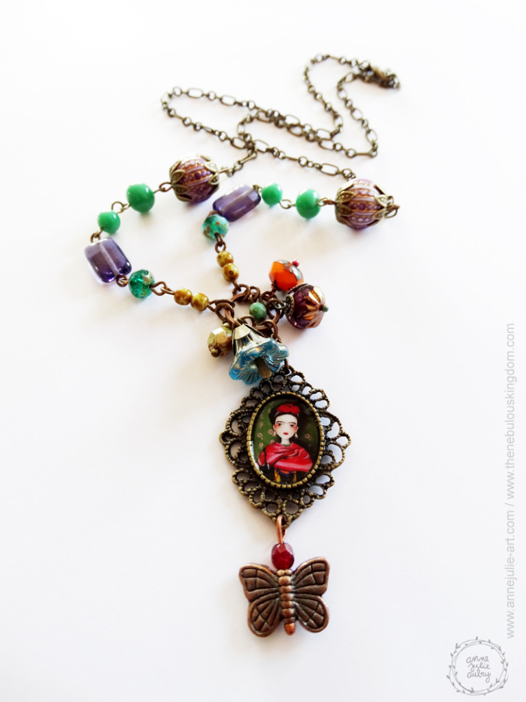 Frida - Jewelry collection © Anne-Julie Aubry / The Nebulous Kingdom