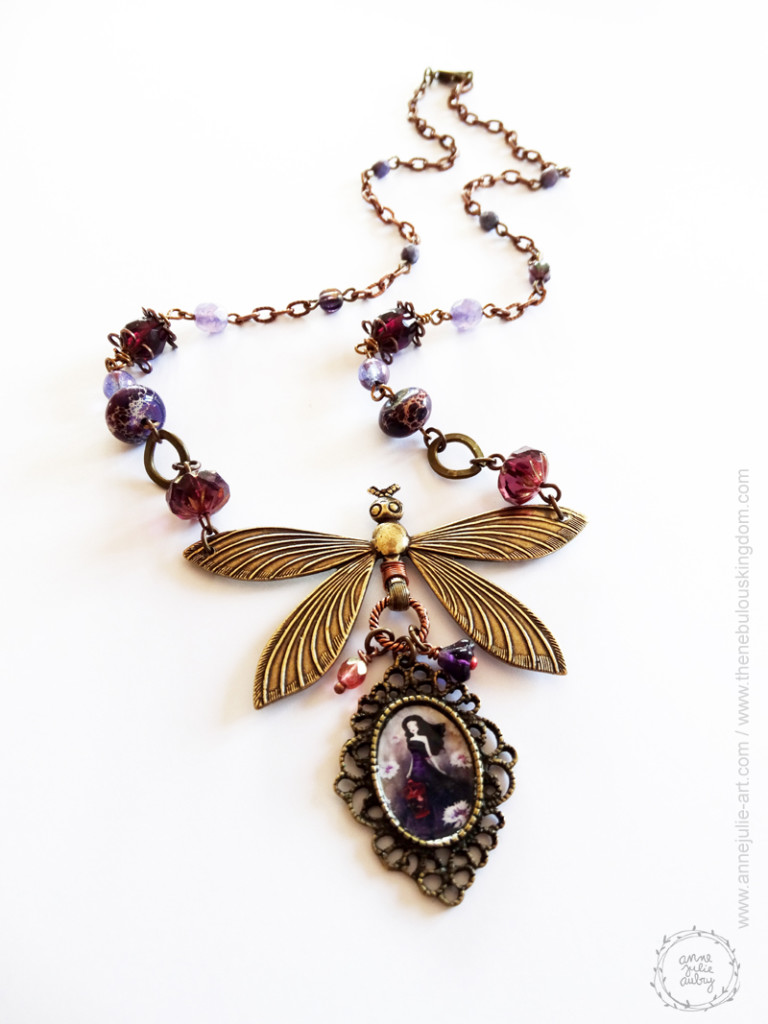 Purple Meadow - Jewelry collection © Anne-Julie Aubry / The Nebulous Kingdom