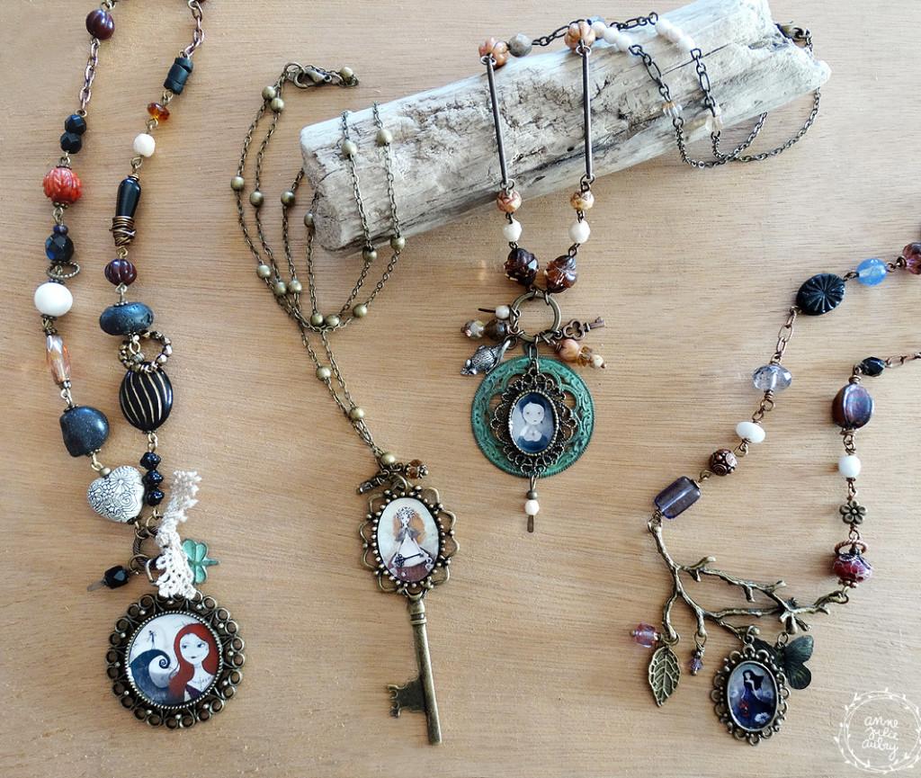 Handmade Jewelry collection © Anne-Julie Aubry / The Nebulous Kingdom