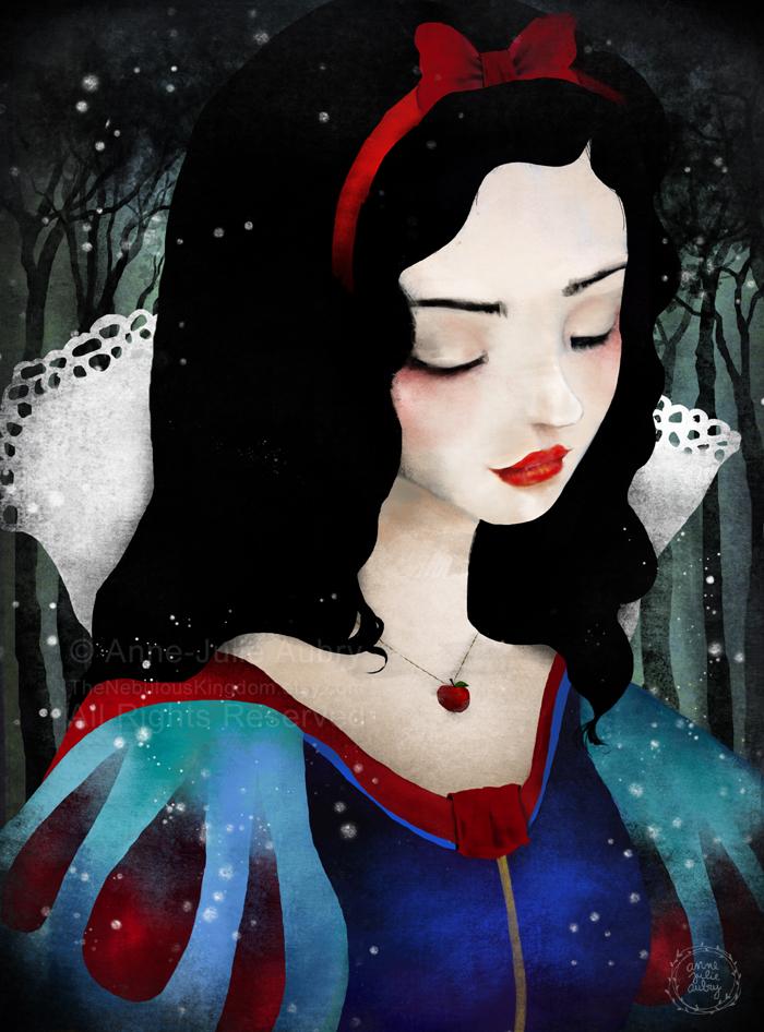 """""""Snow White"""" - ©2016 Anne-Julie Aubry"""