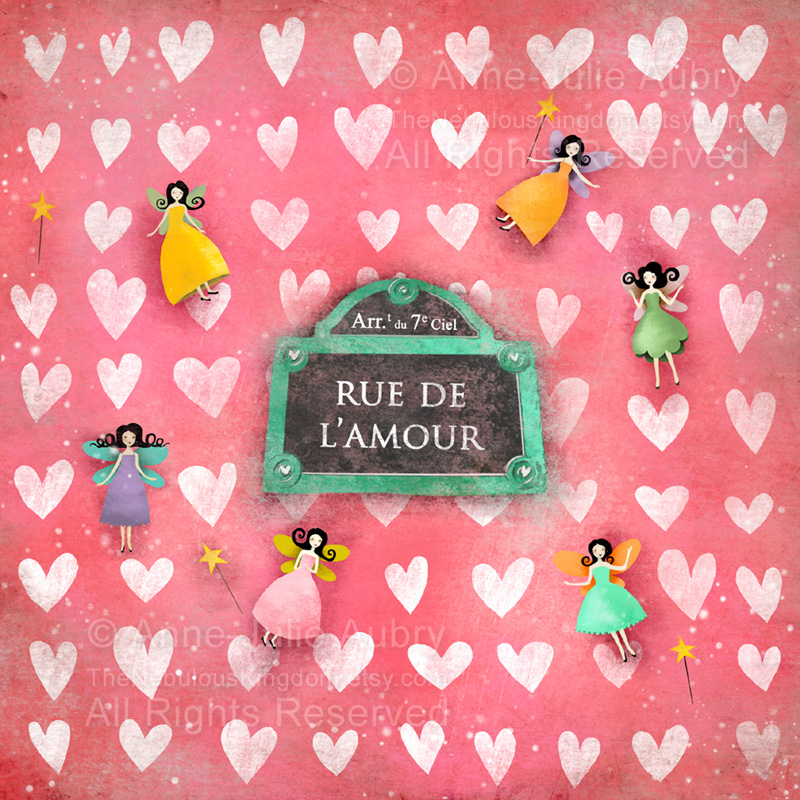 """""""Rue de l'Amour"""" - 2017 Anne-Julie Aubry"""