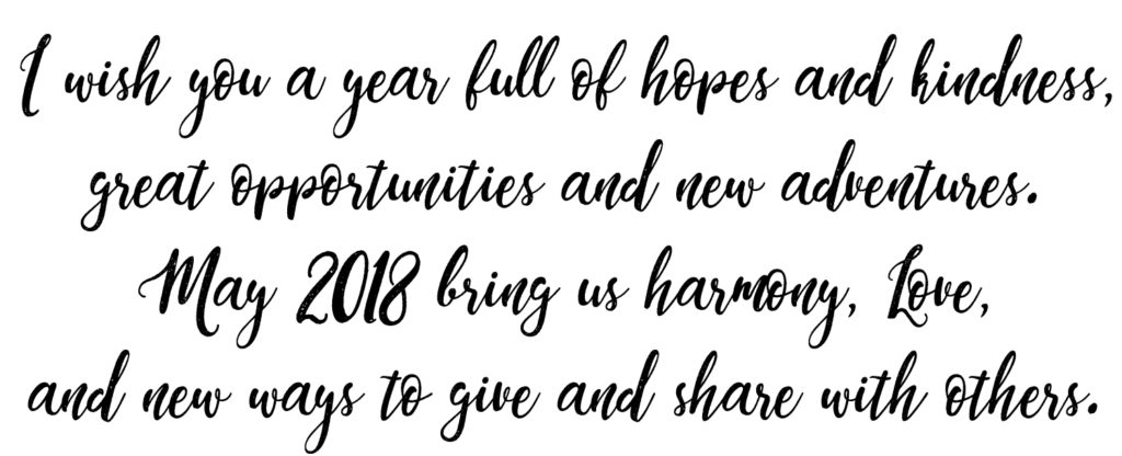 Happy New Year from Anne-Julie Aubry