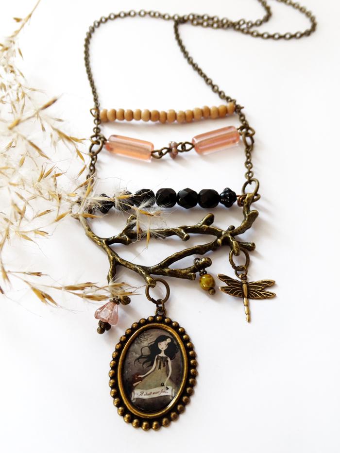 """""""il etait une fois"""" necklace - Anne-Julie Aubry 2018"""
